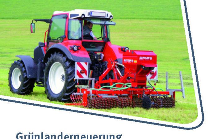 Neuerscheinung - Grünland erfolgreich erneuern