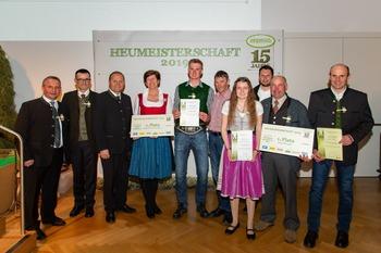 Heumeisterschaft Preistraeger Tirol