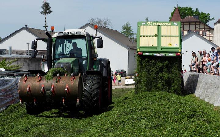 Bundesweites Silageprojekt für Gras und Mais