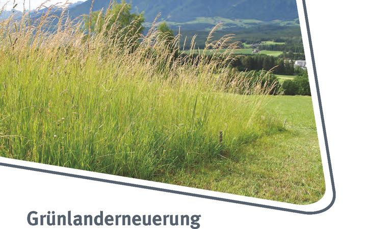 Grünlanderneuerung mit ÖAG-Saatgutmischungen in Südtirol
