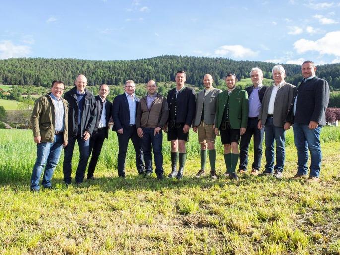 Vorstand bei Gruenlandtag Rodeneck 2017